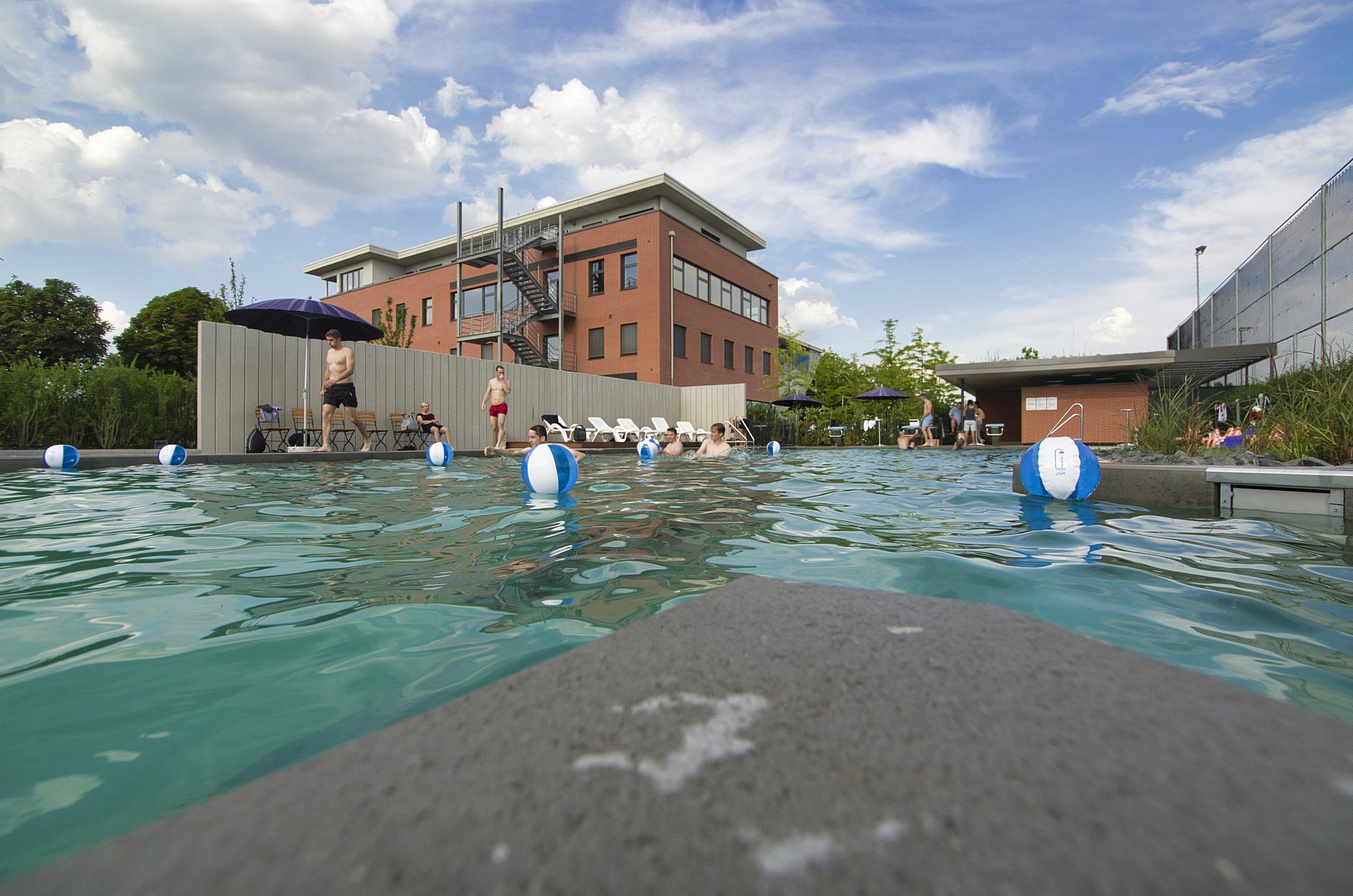 Schwimmen beim HCL
