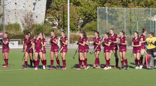 1. Damen am 10.10.2021 daheim gegen TSV Mannheim 2 - 8:0 gewonnen
